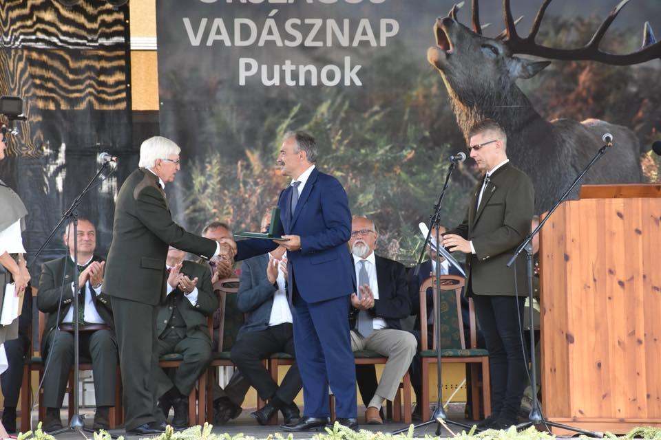 Országos Vadásznap Putnok - dr. Nagy István miniszter