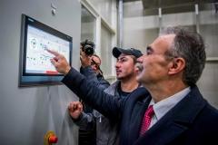 vajdasági gazdaságfejlesztési program, üzemátadó - Nagy István agrárminiszter