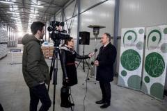 vajdasági gazdaságfejlesztési program, üzemátadó - Nagy István miniszter interjú
