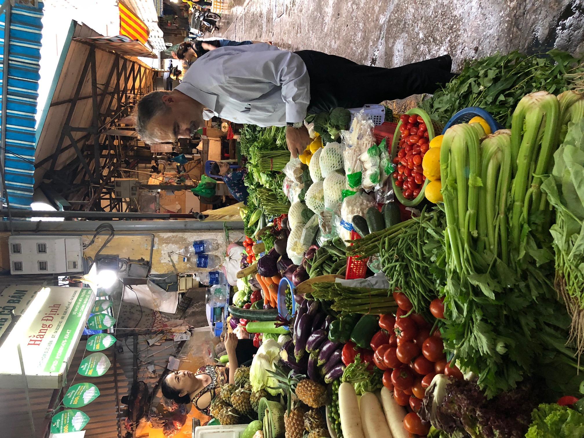 Nagy István agrárminiszter Vietnam - piac