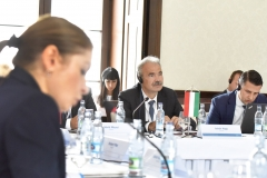 Visegrádi országok delegáció - Nyitra - Nagy István miniszter